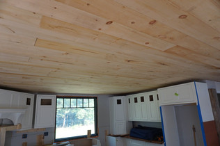 kitchen ceiling going in