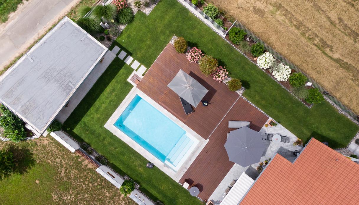 Pool, Gartengestaltung, Gartenplanung, Pflanzen