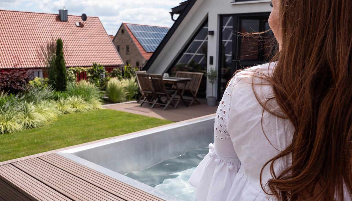 Dachgarten, Pool, Gartengestaltung