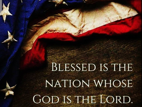 We Want Our Nation To Be Blessed
