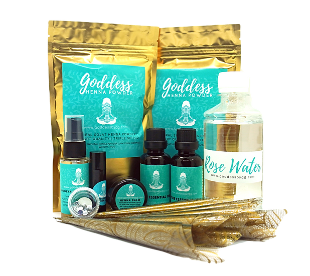 Goddess Henna - DIY Kit (Large)