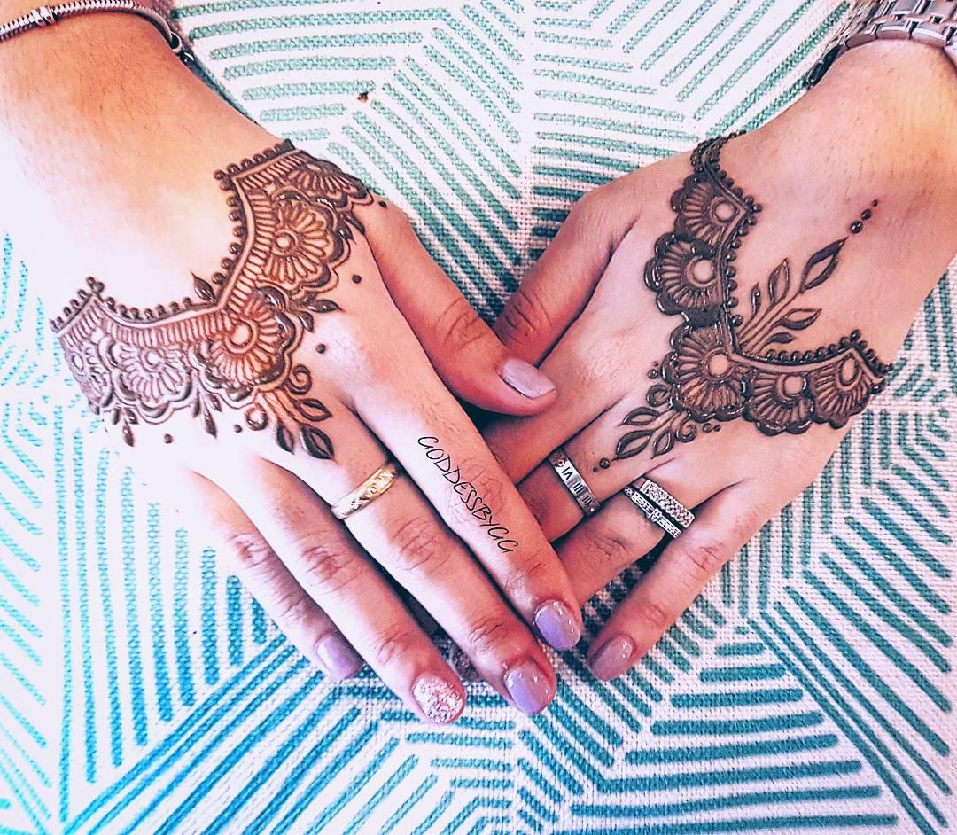 Simple EID Henna