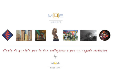 www.made4expo.it, vetrina online per l'arte