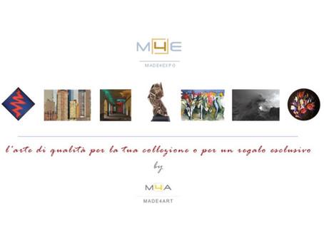 www.made4expo.it, vetrina online per l'arte