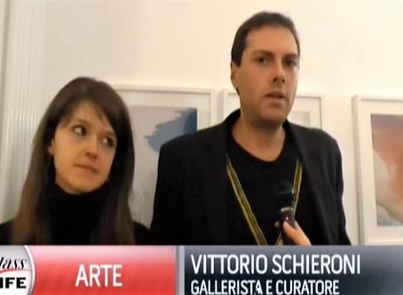 """Vittorio Schieroni intervistato da Class TV per la mostra """"Vie d'Acqua"""""""