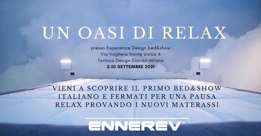 Experience Design bed&show per il Fuorisalone 2021
