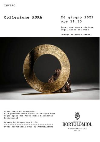 Raimondo Sandri presenta la Collezione Aura