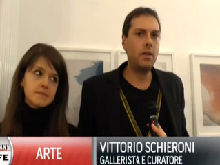 "Vittorio Schieroni intervistato da Class TV per la mostra ""Vie d'Acqua"" a MADE4ART"