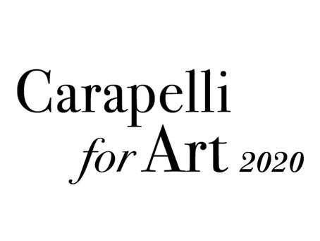 """Aperte le iscrizioni al premio """"Carapelli for Art"""" 2020"""