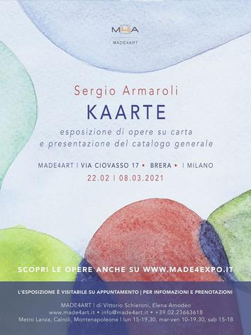 Opere su carta di Sergio Armaroli