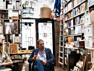 Vittorio Schieroni presenta Maddalena Barletta alla Libreria Bocca