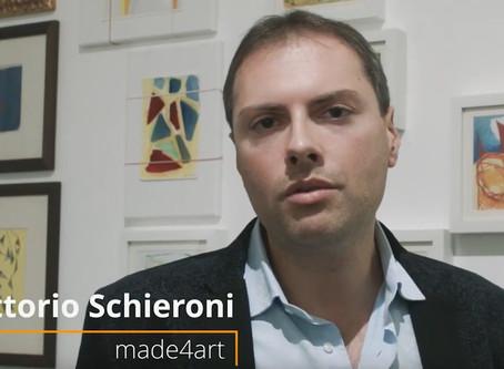 Intervista a Vittorio Schieroni sulla mostra di Sergio Armaroli