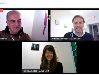 """Ennio Trinelli intervista Vittorio Schieroni su MADE4ART e il progetto """"30x30"""""""