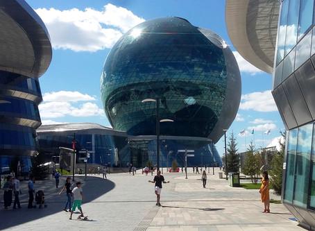 Vittorio Schieroni visita Expo 2017 Astana