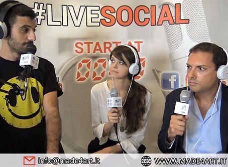 Vittorio Schieroni su Radio Lombardia con Live Social Radio