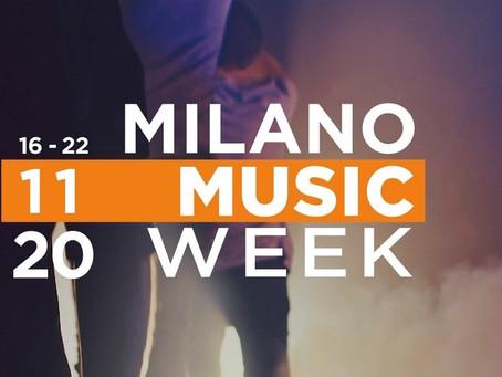 Milano Music Week a novembre in edizione online
