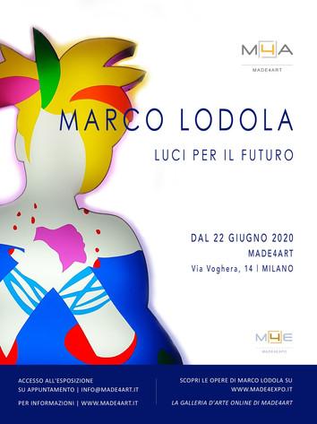 Marco Lodola. Luci per il futuro