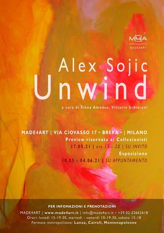 La pittrice serba Alex Sojic in mostra a Milano