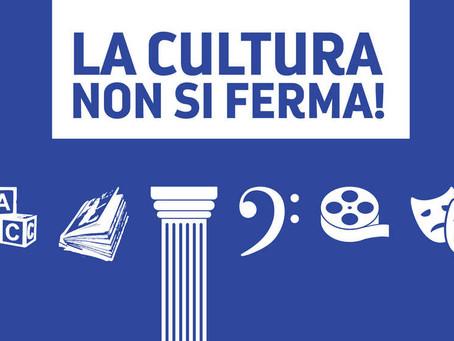 """Il MiBACT presenta """"La cultura non si ferma"""""""