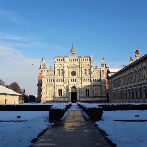 Certosa di Pavia, bianco capolavoro