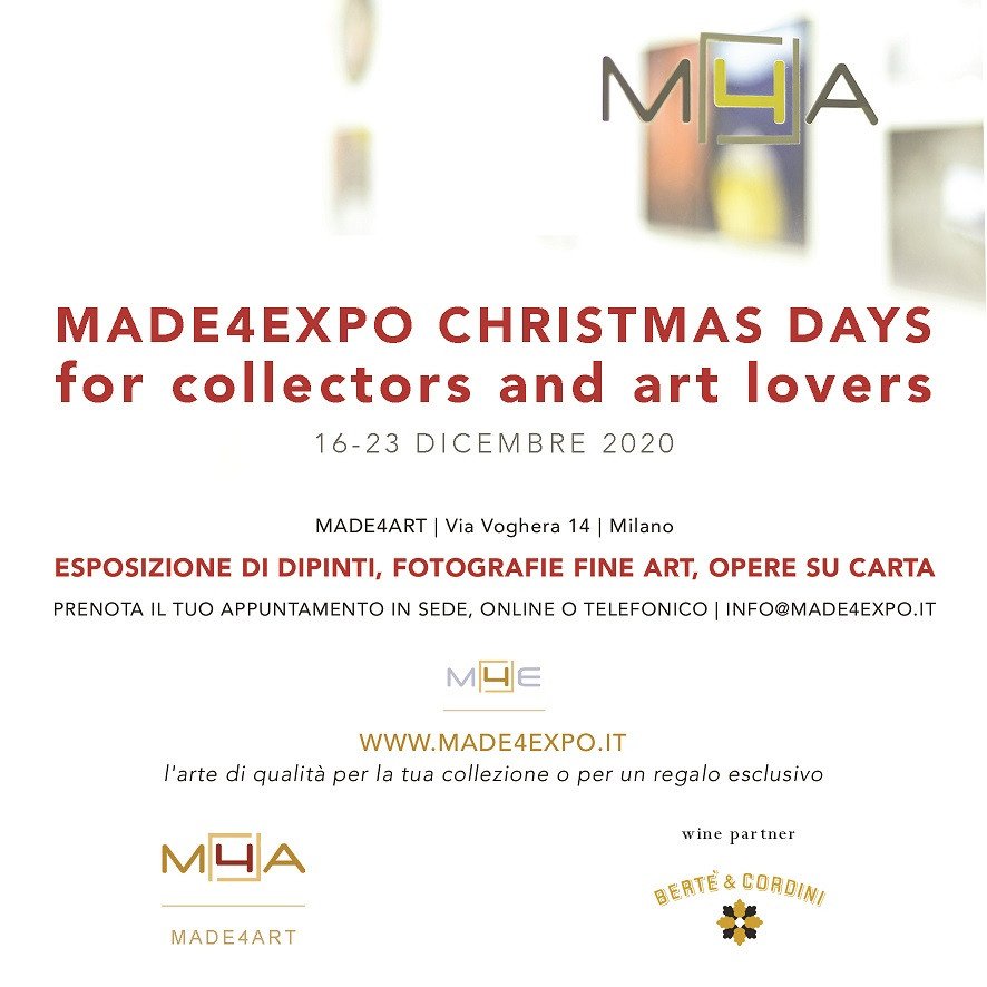 MADE4EXPO Christmas days for collectors and art lovers