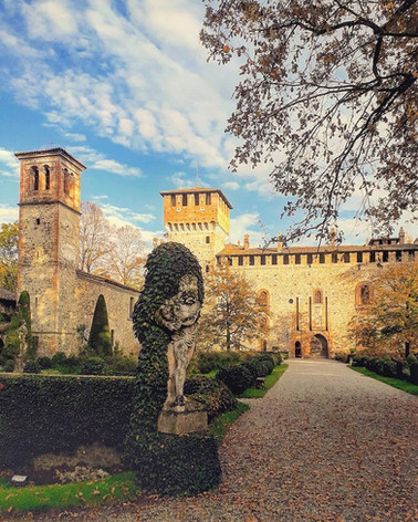 La magia dell'autunno a Grazzano Visconti