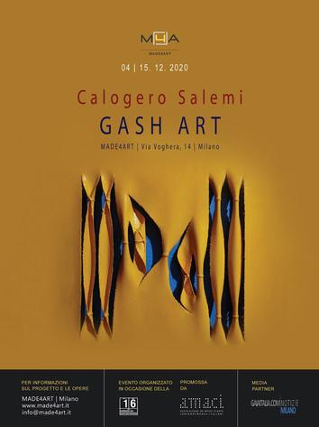 """In esposizione le opere """"GASH ART"""" di Calogero Salemi"""