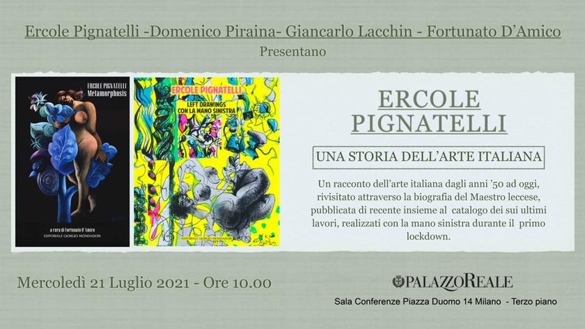 Ercole Pignatelli a Palazzo Reale