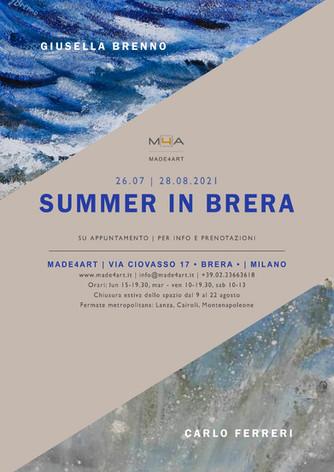 Summer in Brera