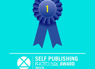The winner of the first edition of the Self Publishing Photolux Award: Yoshikatsu Fujii with the pro