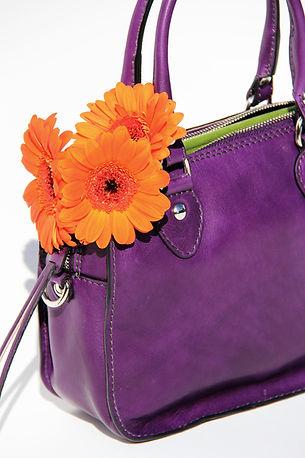 Gemma Fiore 3 purple Italian leather handmade mini bag -min.JPG
