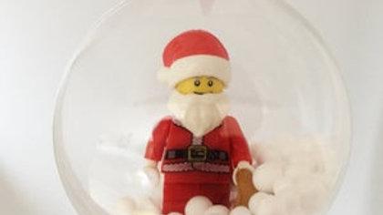 Santa Minifigure Ornament