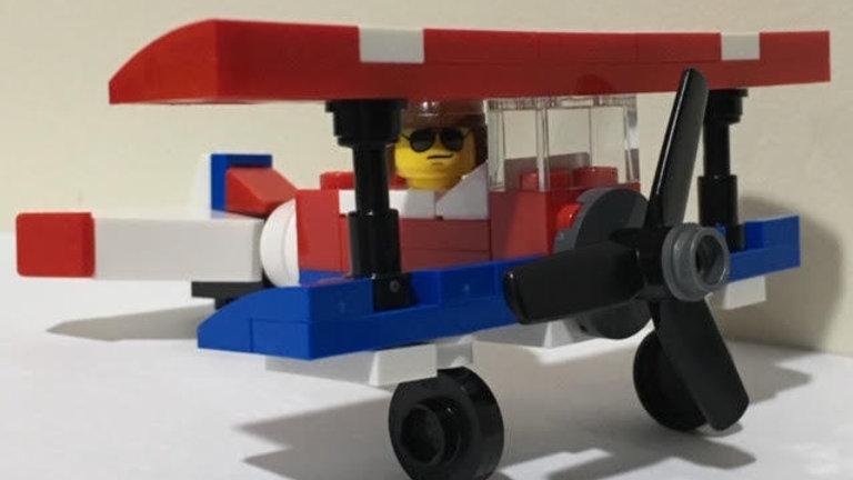 DIY Mini Airplane Set