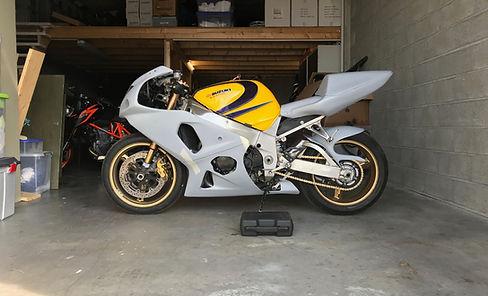 Moto et Motards Jaqueline la GEX 1