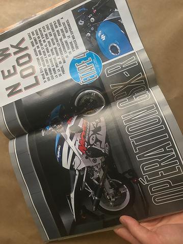 Moto et Motards Jaqueline la GEX 10