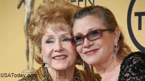 Debbie Reynolds, Carrie Fisher and Grief