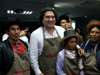Gastón Acurio: Duplicará compras a pequeños productores