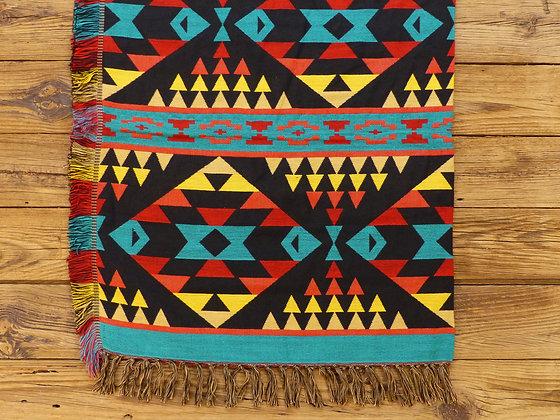 Couverture souple réversible motif Southwest
