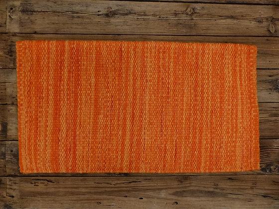 Tapis de Show Marbré Orange