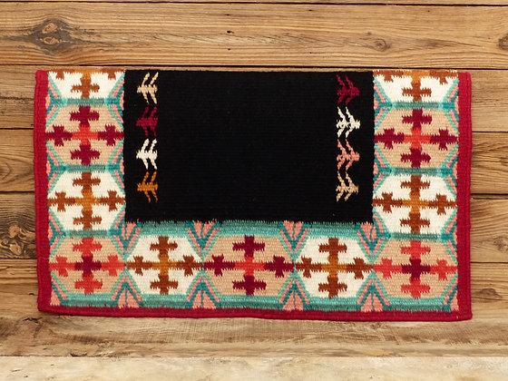 """Yucca Flat bord rouge """"Crosses"""""""
