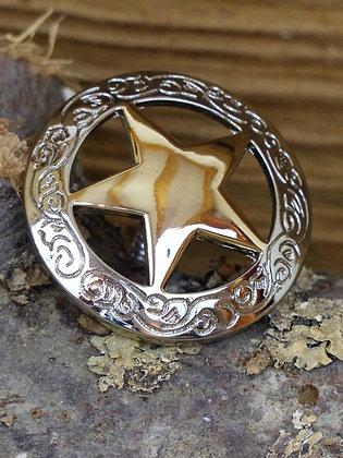 Concho étoile Dorée