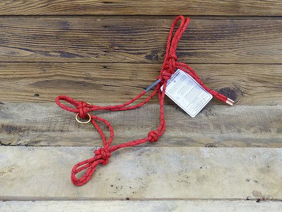 Licol Cob avec anneaux latéraux corde 8mm