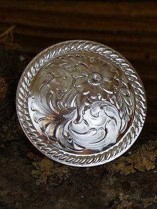 Concho Floral bord corde plate