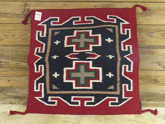 Coussin de Sol motif Southwest en laine