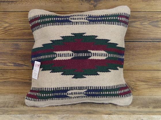 Coussin motif Southwest en laine