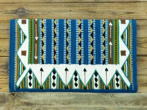 """Yucca Flat bord bleu """"Flèches"""""""
