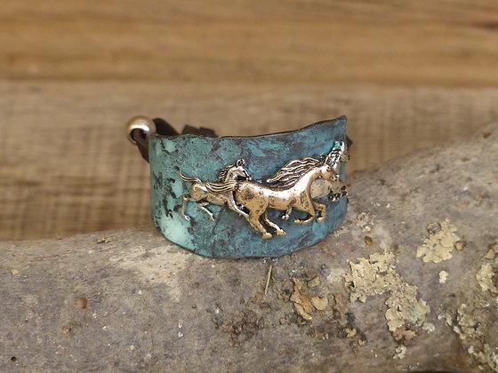 Bracelet chevaux au gallop