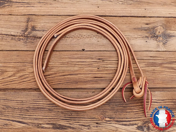"Rênes harness leather 1/2"" (1.27cm)"