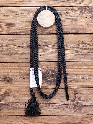 Longe sans mousqueton pour licol en corde Fine