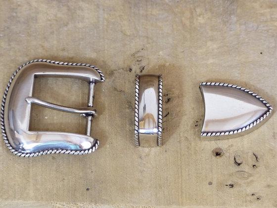 Boucle de ceinture 3 pièces Bord Rope